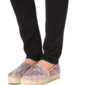 Kate Spade Linds Too Platform Glitter Shoes  7