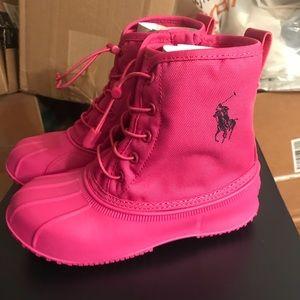 NIB Polo Ralph Lauren Eisley Waterproof Boots Sz 2