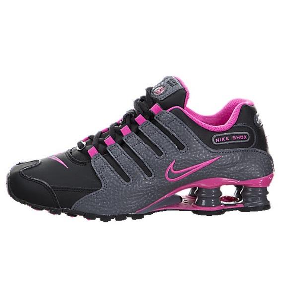 buy online 9237f 68277 Women s Pink, Black   Grey Nike Shox! Like New!
