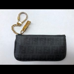 Authentic Fendi keychain wallet