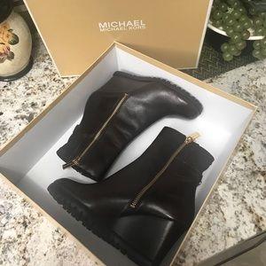 Michael Kors Aileen wedge boot