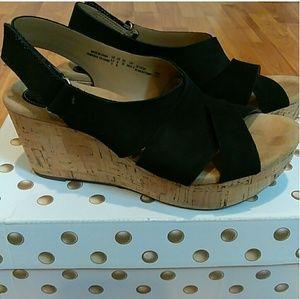 dd8b0d2034e3 Clarks Shoes - Clarks stasha hale women s wedges size 8