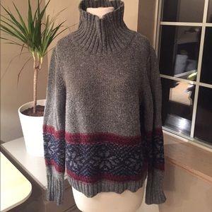 Treasure & Bond Snowflake Sweater - L