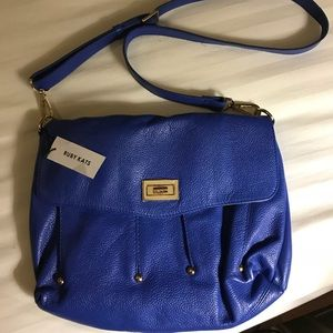 NWT leather crossbody