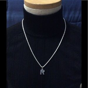 """Other - Necklace with Letter """"R"""""""