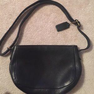 Leather Vintage Coach Shoulder bag