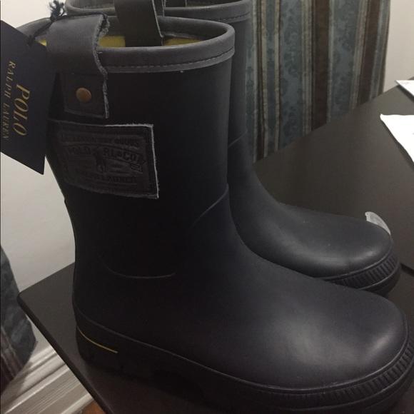 Mens Waterproof Rain Boots