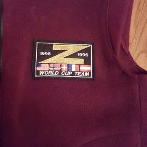 zah-buu Jackets & Coats - Vtg.  Zah-buu 95-96 World cup team vest.