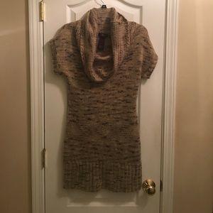 Ultra Flirt sweater dress cowl neck