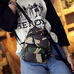 "Handbags - New Item✨Camouflage ""Mini"" Backpack😍✨"