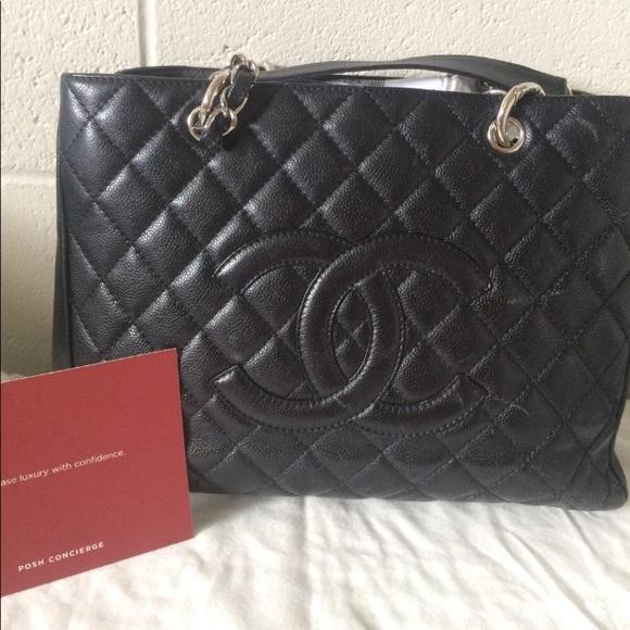 141114beede6fd CHANEL Handbags - Authentic Chanel gst caviar tote