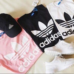 Adidas originals trefoil T-shirt- NWT