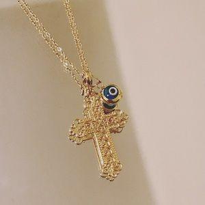 Jewelry - FLASH SALE✨Christian Cross Pendant