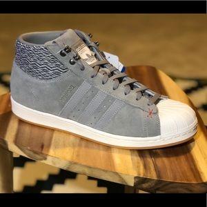 adidas Shoes - Adidas Pro Model BT Grey Suede - Mens Sz 11