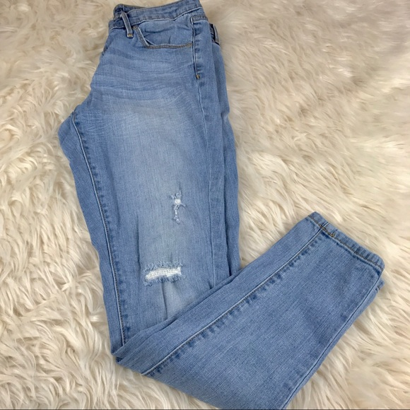 6f492d420f9ed Mossimo Supply Co Jeans | Mossimo Low Rise Skinny Light Wash Size 8 ...