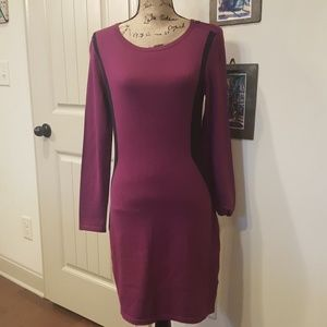 Kenneth Cole Size M Color Block Sweater Dress