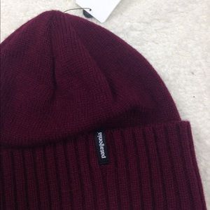 2bf4255c315 Patagonia Accessories - NWT Patagonia Brodeo Ox Blood Beanie Hat