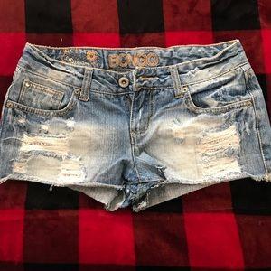 Super cute shorty jean shorts
