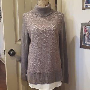 Simply Vera Medium Tunic Sweater
