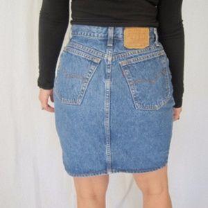 edc6e65041 Levis Skirts   Iso Vintage Levi Mini Skirt Size Xs 23 24 25   Poshmark
