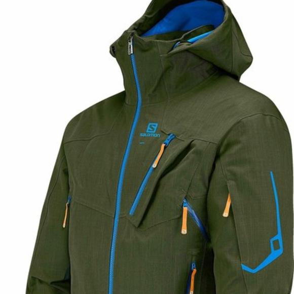 48555eb68f9e Salomon Men s Foresight Jacket w  Clima ProStorm
