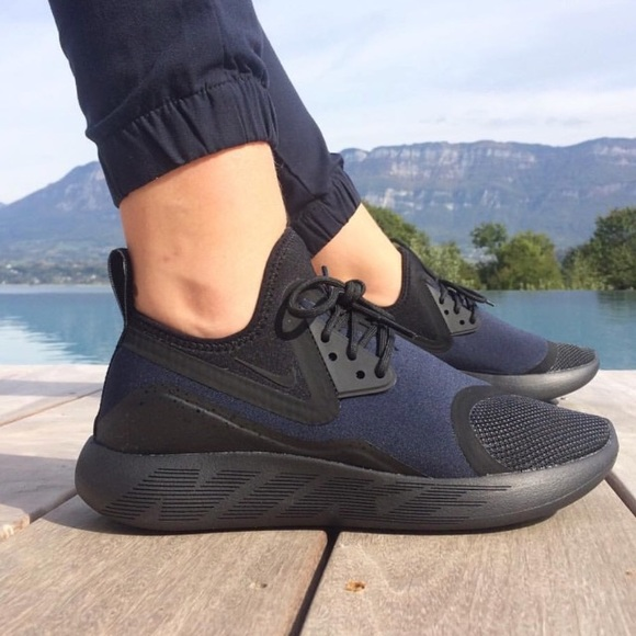 6203a0a9b6 Nike Shoes | Womens Lunarcharge Essential Black Sneakers | Poshmark