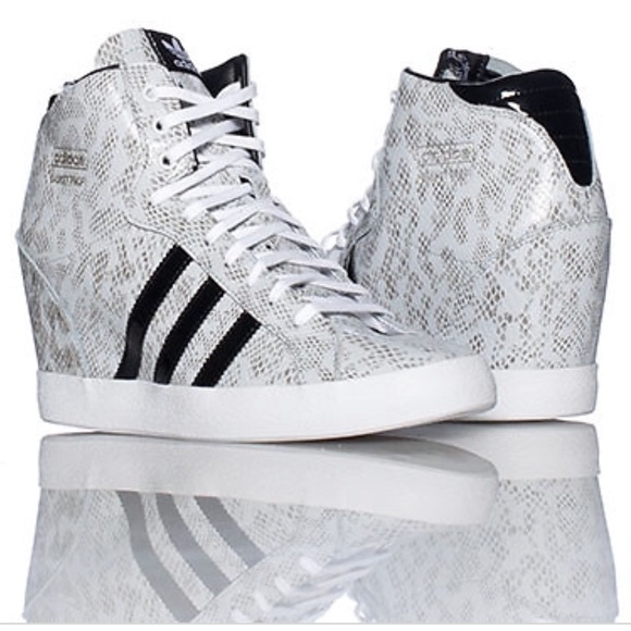 promo code 76406 c09e9 adidas Shoes - Adidas basket profi heel wedge sneakers