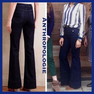 Anthropologie Picro Superscript High Waisted Jeans