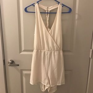 Dresses & Skirts - NWT - cream romper, medium