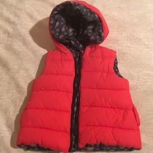Baby Zara hooded vest
