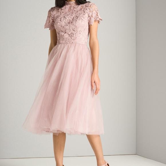 ASOS Dresses | Chi Chi London Billie Dress Mink | Poshmark