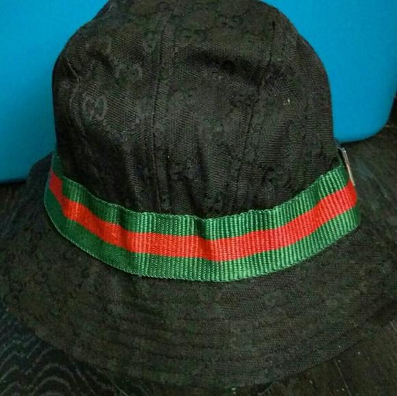 94de0514fae Gucci Other - GUCCI Fedora Bucket Hat (Sz.L)