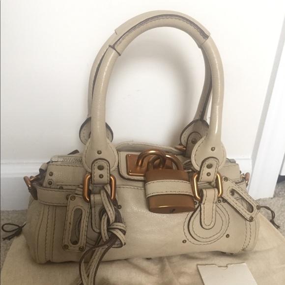 c7a42b326a Chloe Handbags - 1 hour clearance GUC Chloe paddington shoulder bag