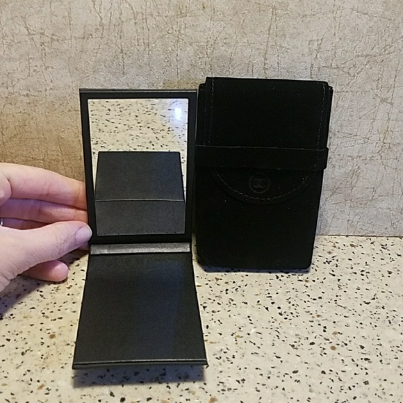 CHANEL Makeup - Chanel Limited Edition Compact Mirror and Pouch