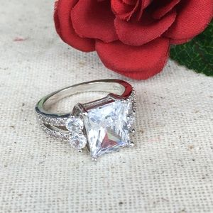 Fun Fashion Sterling Silver Plated Ring