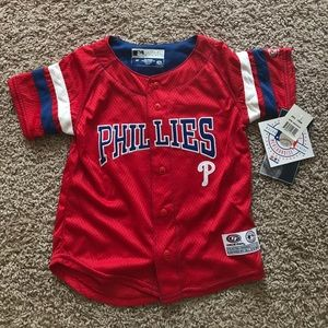 Other - Brand new with tags Phillies jersey like shirt