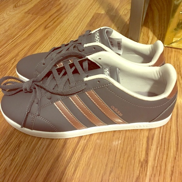 da1350ddd8f9 adidas Shoes - BRAND NEW - Gray Rose Gold Adidas