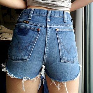 Vintage wranglers shorts