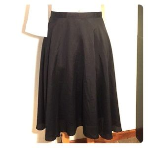 Dresses & Skirts - Dressy Black Circle Skirt