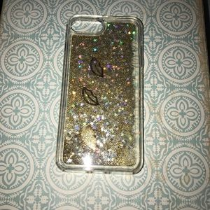 Accessories - Glitter flow phone case for iPhone 7 Plus