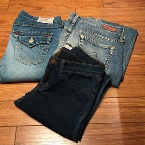 Denim - Designer Jean bundle - size 26-27