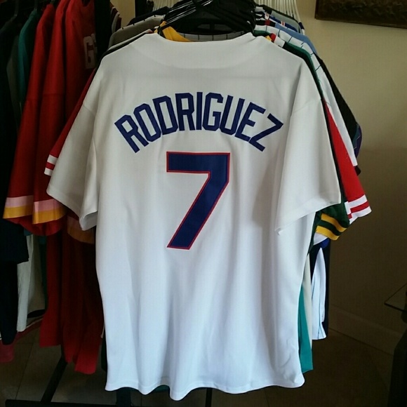 more photos 7effc 6b203 IVAN RODRIGUEZ TEXAS RANGERS JERSEY NWT