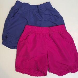 2 pairs of Columbia girls shorts.