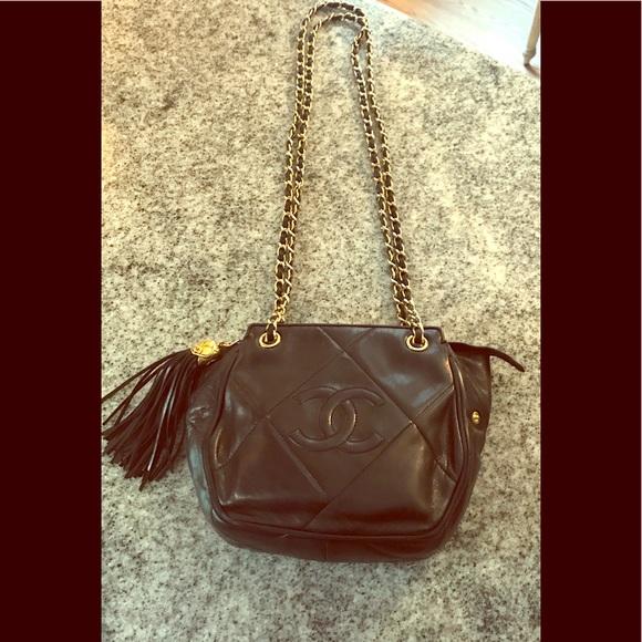 8d832ca756d2 CHANEL Handbags - Authentic Vintage Chanel Camera Tassel Handbag