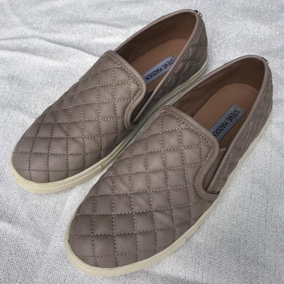36825f381b8 Steve Madden Shoes - Steven Madden Ecentrcq Slip ons - Grey   Gray