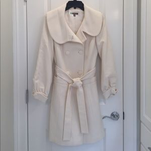 Wool Blend Trench Coat by Halogen