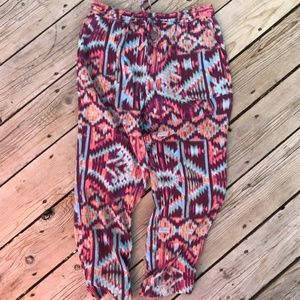 Anthropologie Lilka Pants --Pattern -- Size Small