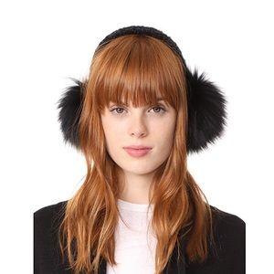 Eugenia Kim brown Janine earmuffs - fox fur