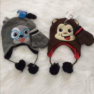 Other - Boys Critter 2 piece Hat & Glove set