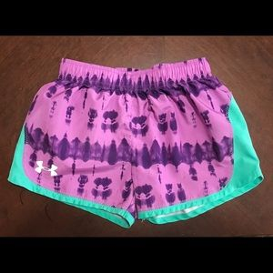🌹SOLD🌹Under Armour Tie Dye Athletic Shorts